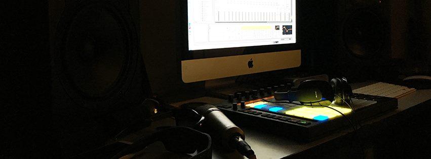 recording studio workstation